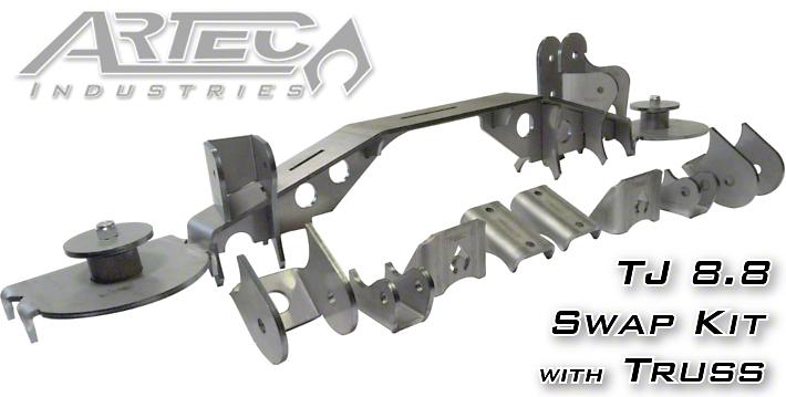 Artec Industries 8.8 Axle Swap Kit w/ Truss (97-06 Jeep Wrangler TJ)