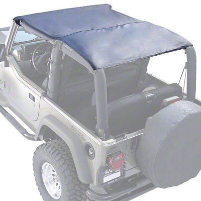 Rugged Ridge Roll Bar Top - Black Diamond (97-06 Jeep Wrangler TJ)