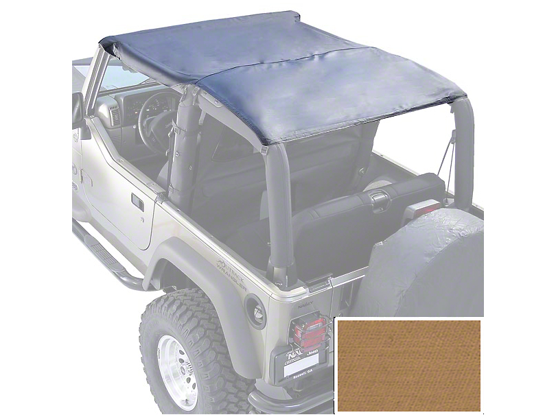 Rugged Ridge Roll Bar Top Header - Spice (97-06 Jeep Wrangler TJ)