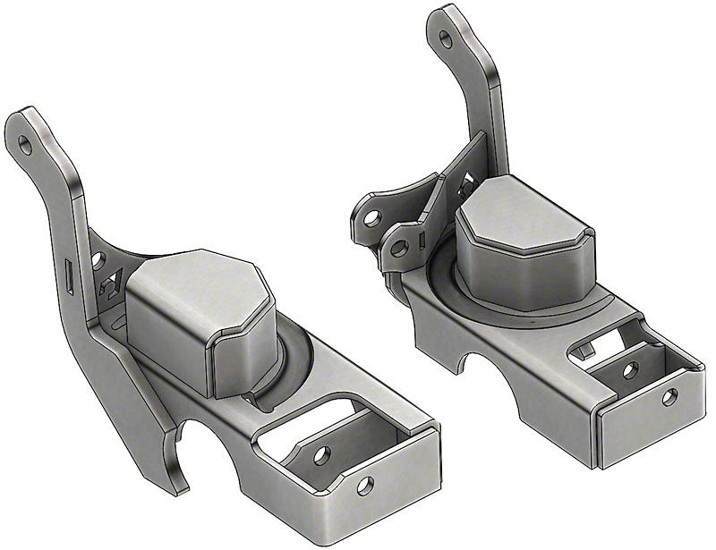 Artec Industries Front Axle Coil Bracket Replacement (97-06 Jeep Wrangler TJ)