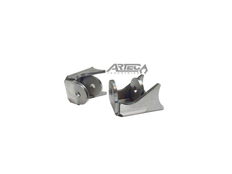 Artec Industries High Clearance Shock Brackets (87-20 Jeep Wrangler YJ, TJ, JK & JL)