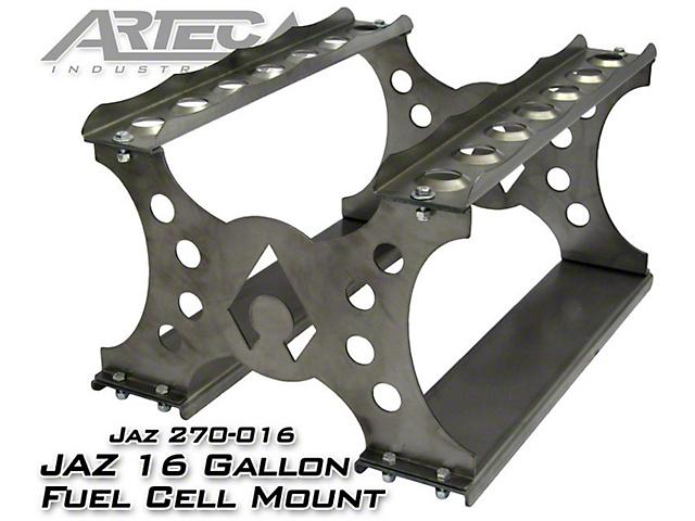 Artec Industries JAZ Pro Sport 16 Gallon Fuel Cell Mount (87-19 Jeep  Wrangler YJ, TJ, JK & JL)
