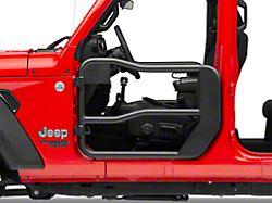 Rugged Ridge Fortis Front Tube Doors (18-20 Jeep Wrangler JL)