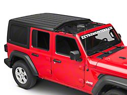 Rugged Ridge Front Hard Top Eclipse Sun Shade; Black (18-21 Jeep Wrangler JL)