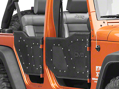 DV8 Off-Road Plated Rock Doors (07-18 Jeep Wrangler JK 4 Door)