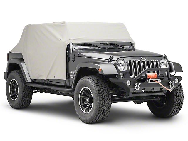 TruShield Cab Cover (07-18 Jeep Wrangler JK 4 Door)