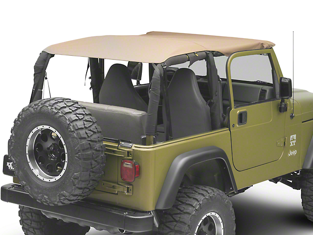 Dark Forest Extended Top; Denim Spice (97-06 Jeep Wrangler TJ)