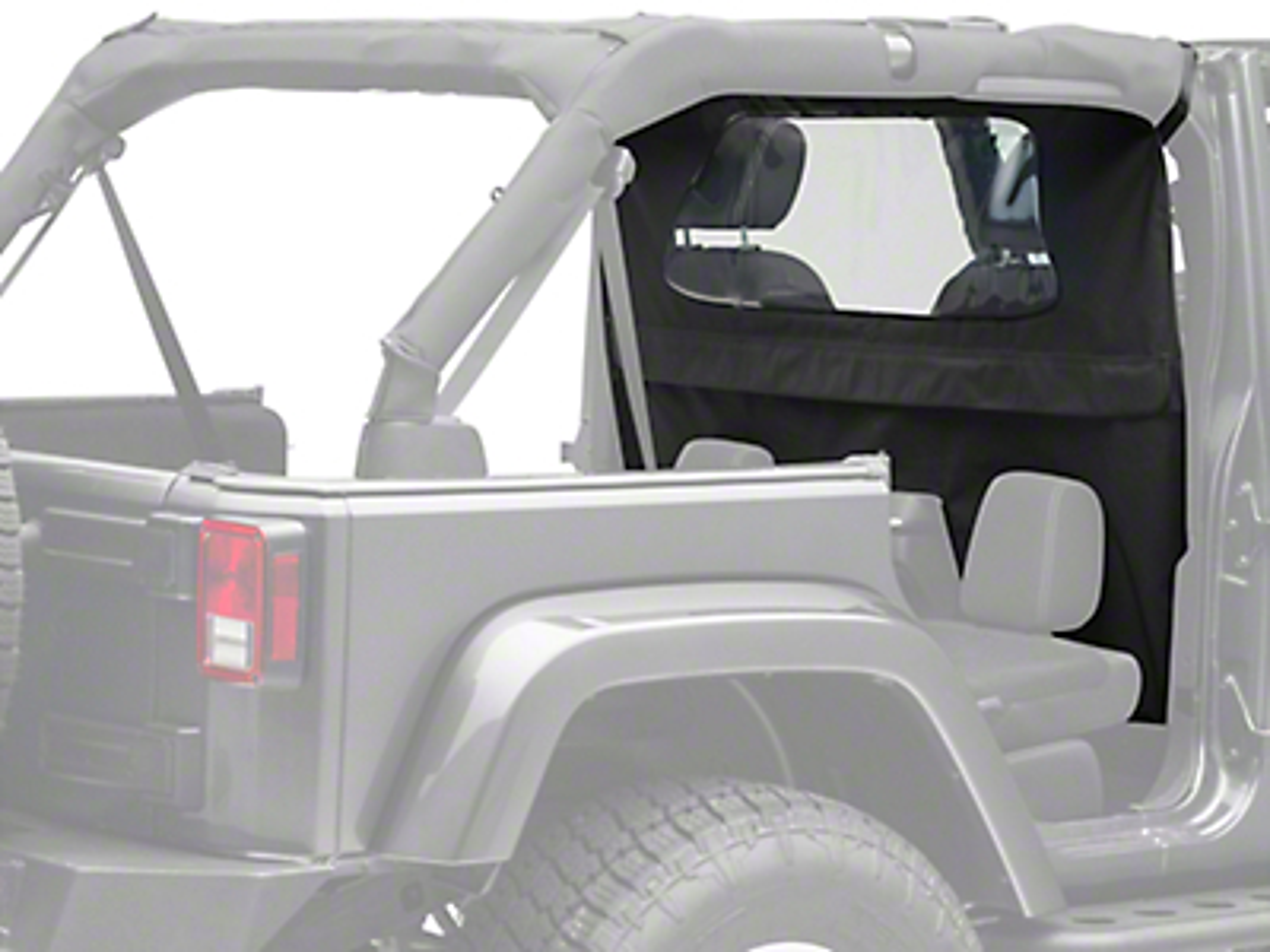 TruShield Wind Breaker - Black Diamond (07-18 Jeep Wrangler JK 4 Door)