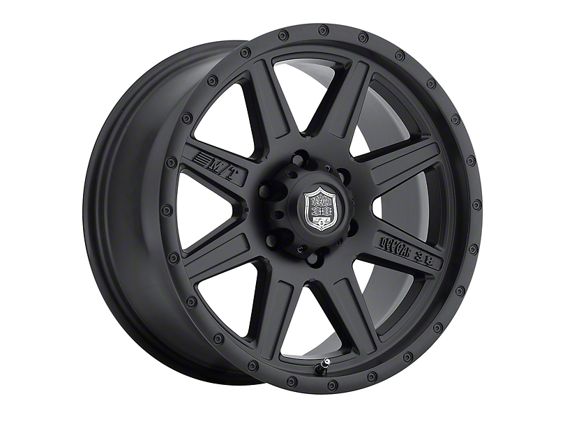 Mickey Thompson Deegan 38 Pro 2 Black Wheel; 15x10 (87-95 Jeep Wrangler YJ)