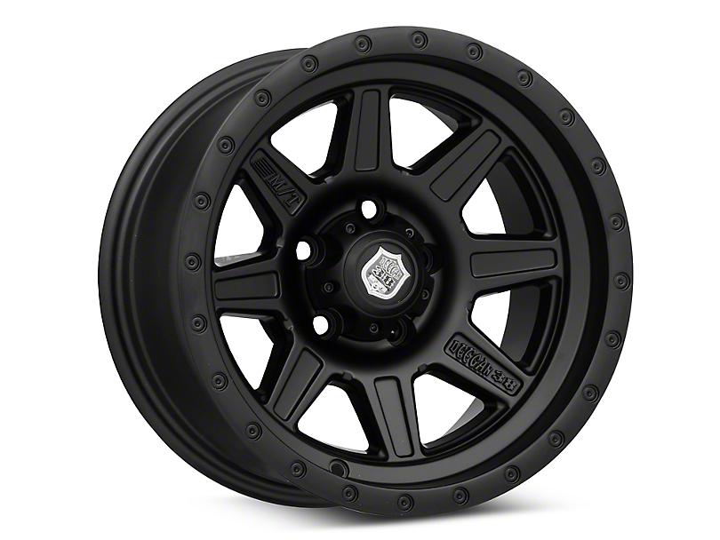 Mickey Thompson Deegan 38 Pro 2 Black Wheel - 15x8 (87-95 Jeep Wrangler YJ)