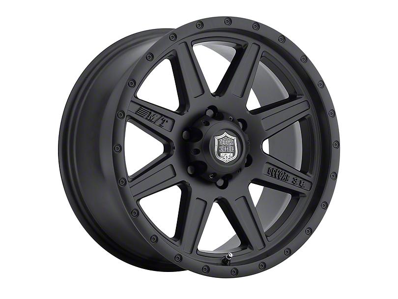 Mickey Thompson Deegan 38 Pro 2 Black Wheel; 17x9 (87-95 Jeep Wrangler YJ)