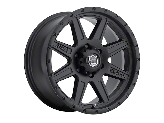 Mickey Thompson Deegan 38 Pro 2 Black Wheel; 17x9 (97-06 Jeep Wrangler TJ)