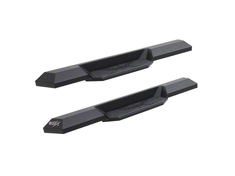 HDX Xtreme Running Boards - Textured Black (07-18 Jeep Wrangler JK 2 Door)