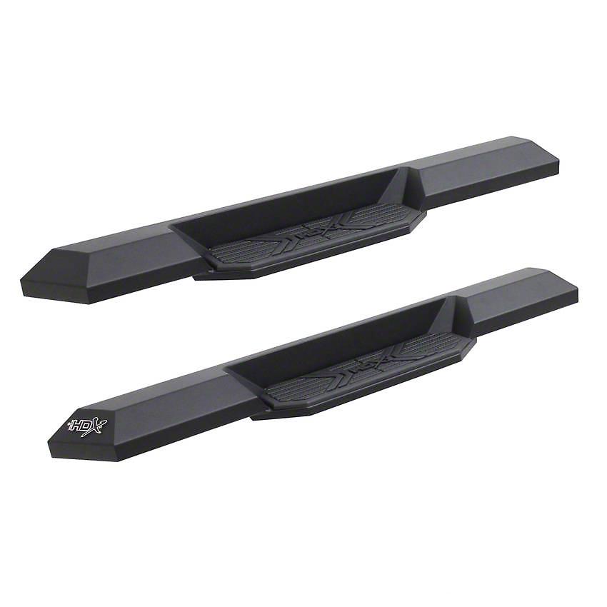 Westin HDX Xtreme Running Boards - Textured Black (07-18 Jeep Wrangler JK 2 Door)
