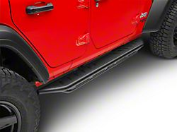 Snyper Triple Tube Rock Rails - Textured Black (18-19 Jeep Wrangler JL 4 Door)