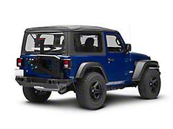 Westin WJ2 Rear Bumper w/ Tire Carrier - Textured Black (18-19 Jeep Wrangler JL)