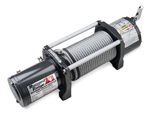Rugged Ridge Heavy Duty 10,500 lb. Winch
