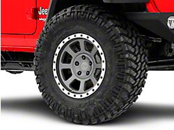 Rovos Kalahari Charcoal w/ Machined Lip Wheel - 17x9 (18-20 Jeep Wrangler JL)