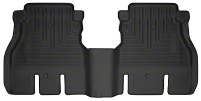 Husky X-Act Contour 2nd Row Floor Liner - Black (2018 Jeep Wrangler JL 4 Door)