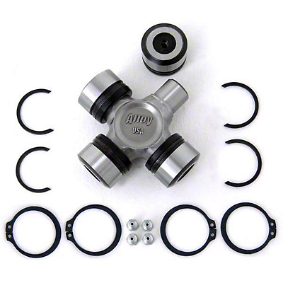 Alloy USA Heavy Duty X-joint Complete U-joint w/ Bearings (87-06 Wrangler YJ & TJ)