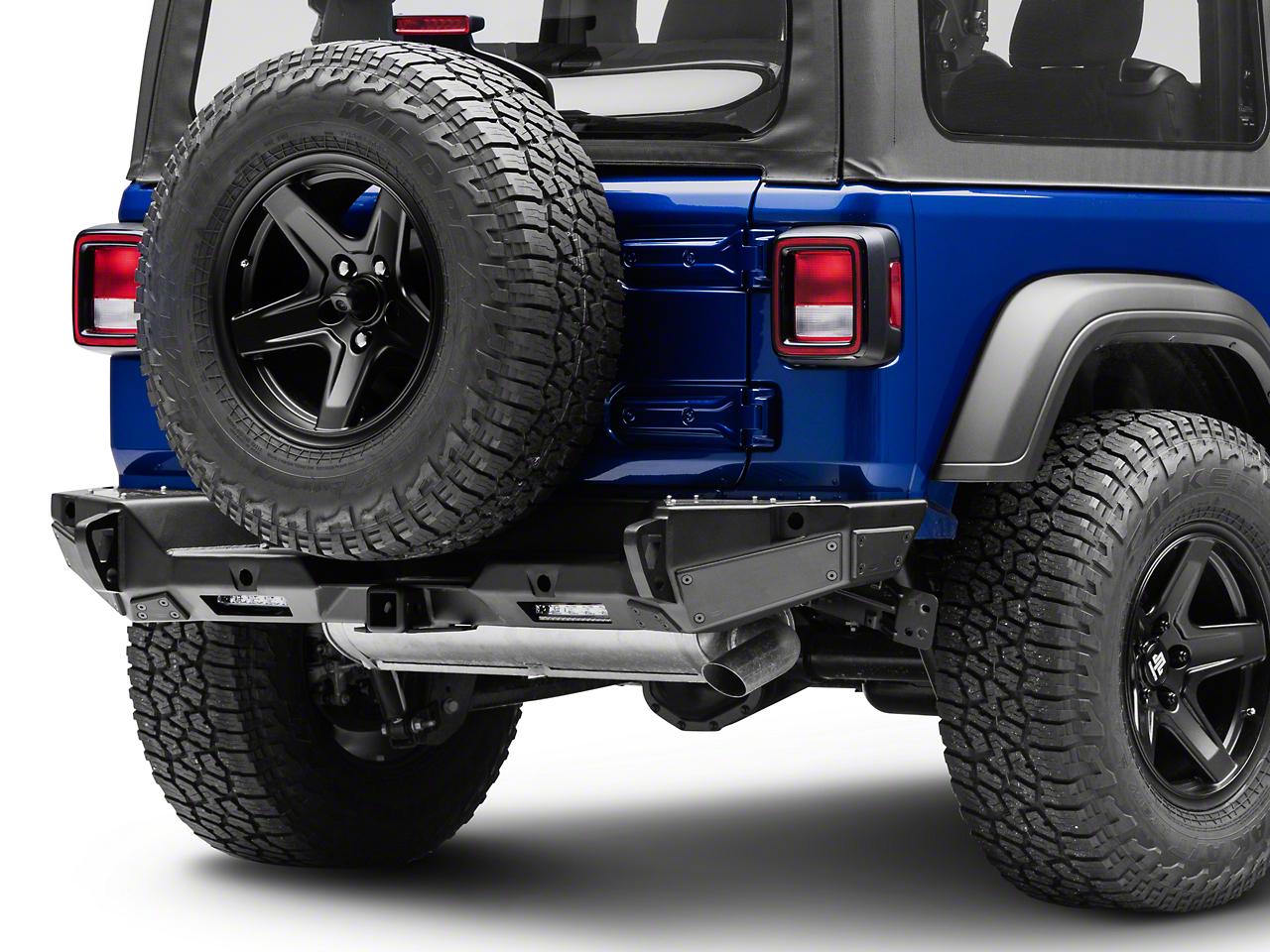 Smittybilt XRC Gen2 Rear Bumper (2018 Jeep Wrangler JL)