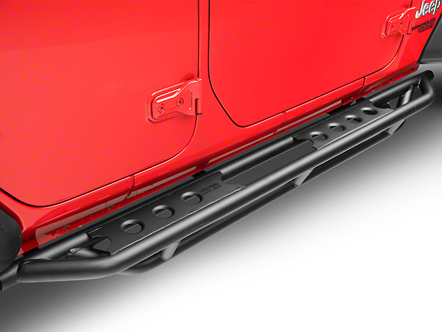 Smittybilt SRC Side Step Bars (18-20 Jeep Wrangler JL 4 Door)