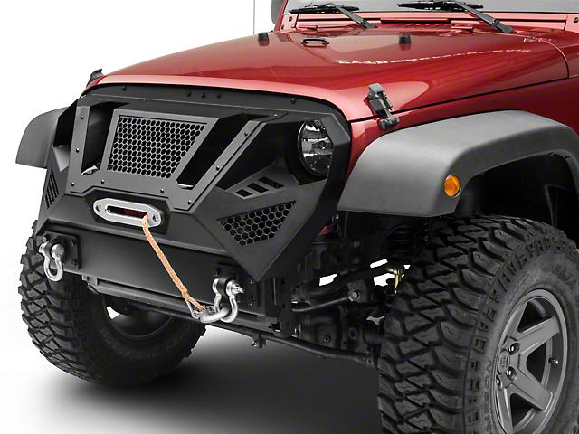Barricade Apocalypse Grille Guard (07-18 Jeep Wrangler JK)