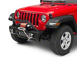 RedRock 4x4 Attack Stubby Winch Front Bumper (18-21 Jeep Wrangler JL)