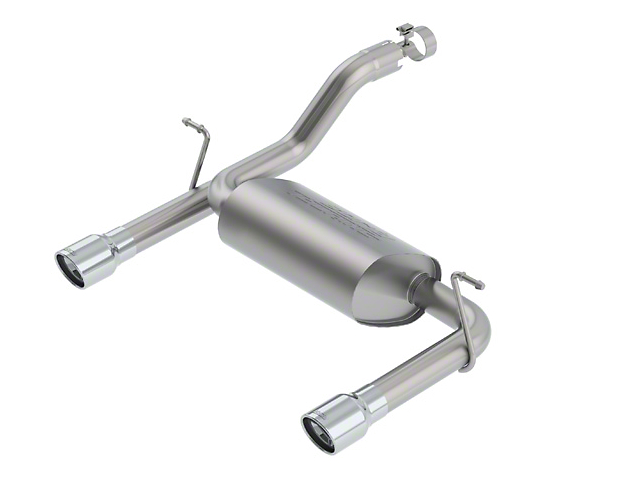 Borla Touring Axle-Back Exhaust with Polished Tips (18-20 3.6L Jeep Wrangler JL)