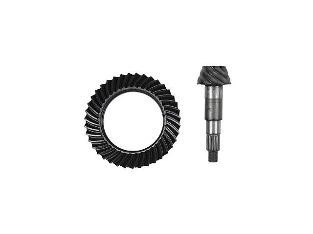 G2 Axle and Gear Dana 30 Front Axle Ring and Pinion Gear Kit; 4.56 Gear Ratio (07-20 Jeep Wrangler JK & JL, Excluding Rubicon)