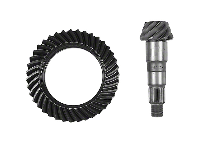 G2 Axle and Gear Dana 30 Front Axle Ring and Pinion Gear Kit; 5.13 Gear Ratio (07-20 Jeep Wrangler JK & JL, Excluding Rubicon)