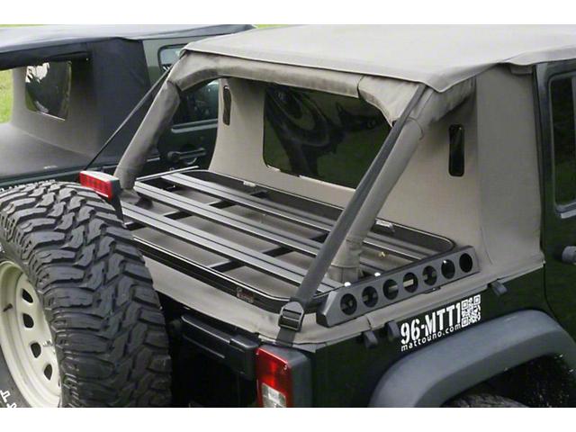 High Quality Suntop Cargo Rack (07 18 Jeep Wrangler JK)