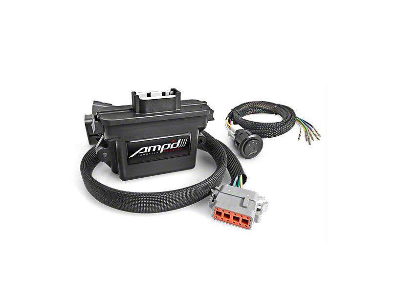 Amp'd Throttle Booster w/ Power Switch (05-06 Jeep Wrangler TJ)