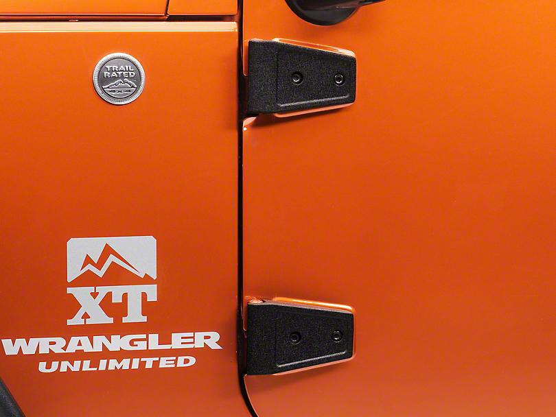 Rugged Ridge 8-Piece Door Hinge Kit (07-18 Jeep Wrangler JK 4 Door)