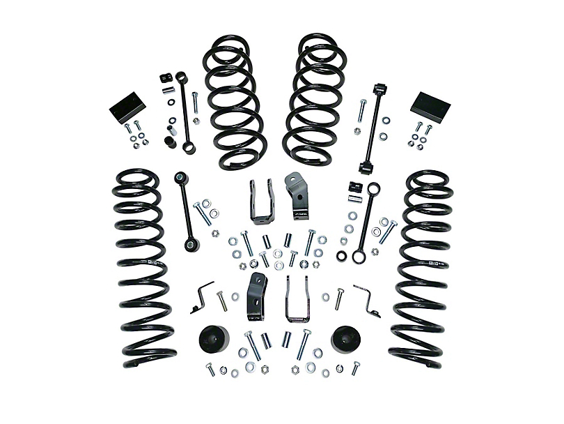 Alloy USA 2.50-Inch Suspension Lift Kit (18-20 Jeep Wrangler JL 4 Door)