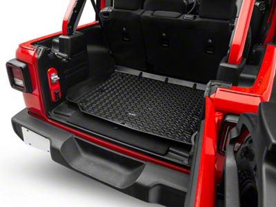 Rugged Ridge All-Terrain Cargo Liner - Black (18-19 Jeep Wrangler JL 4 Door)