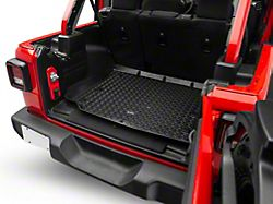 Rugged Ridge All-Terrain Cargo Liner; Black (18-20 Jeep Wrangler JL 4 Door)