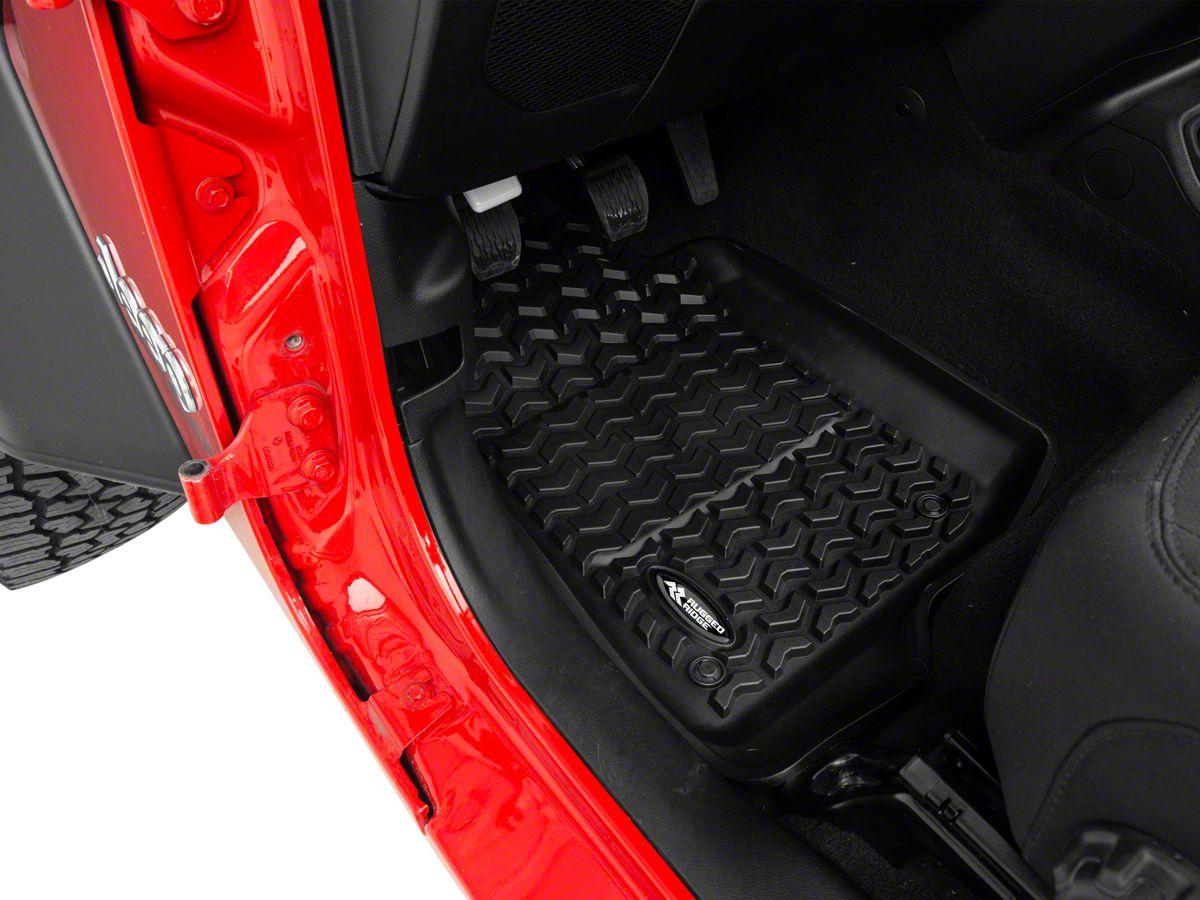 Rugged Ridge Jeep Wrangler All Terrain Front Rear Floor Mats