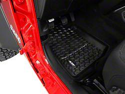 Rugged Ridge All-Terrain Front & Rear Floor Mats - Black (18-19 Jeep Wrangler JL 4 Door)