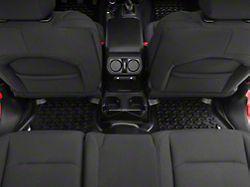 Rugged Ridge All-Terrain Rear Floor Mat - Black (18-19 Jeep Wrangler JL 4 Door)