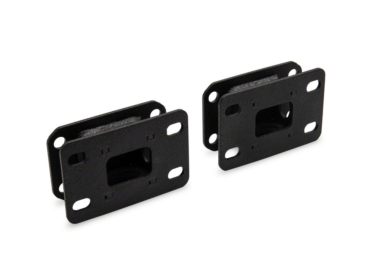 DV8 Off-Road JK to JL Front Bumper Adapter Bracket (18-20 Jeep Wrangler JL)