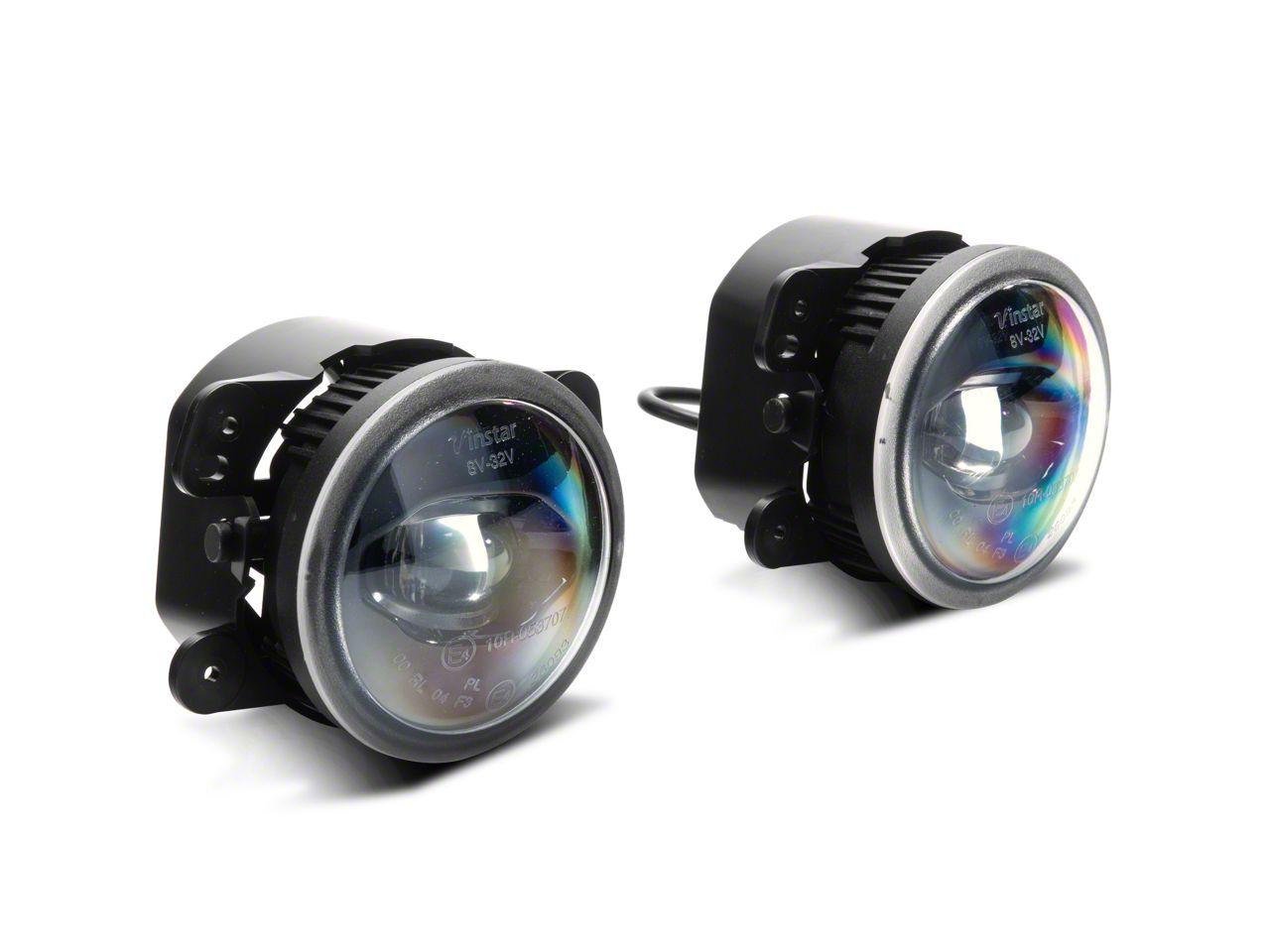 Axial LED Fog Lights (10-18 Jeep Wrangler JK)