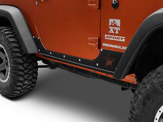 Rock-Slide Engineering Step Slider Rocker Guards (07-18 Jeep Wrangler JK 2-Door)