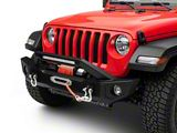 Barricade HD Front Bumper with 20-Inch Light Bar (18-20 Jeep Wrangler JL)