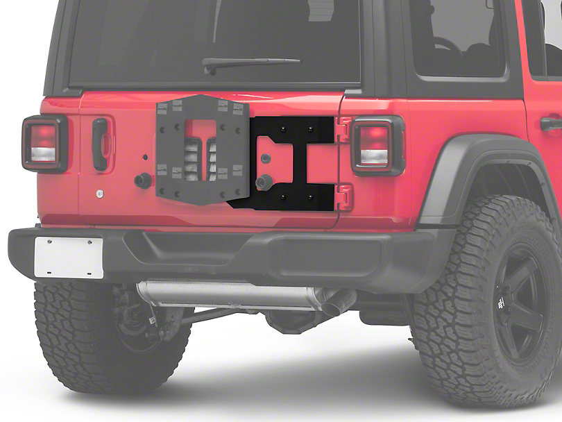 RedRock 4x4 HD Tailgate Reinforcement Panel (18-20 Jeep Wrangler JL)