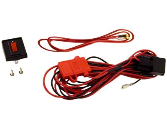 rugged ridge wiring harness for three hid off road fog lights (87 20 jeep wrangler yj, tj, jk \u0026 jl) 3 Off Road Light Wiring Harness jeep wrangler wiring harness