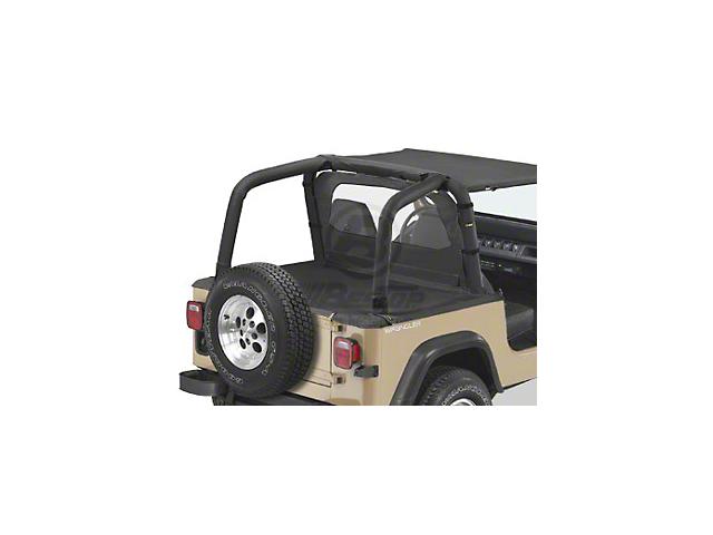 Bestop Sport Bar Covers - Black Denim (92-95 Jeep Wrangler YJ)