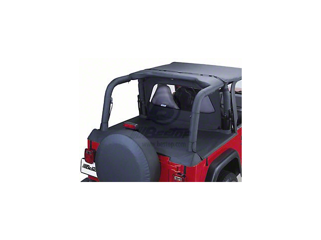 Bestop Sport Bar Covers; Black Diamond (03-06 Jeep Wrangler TJ)