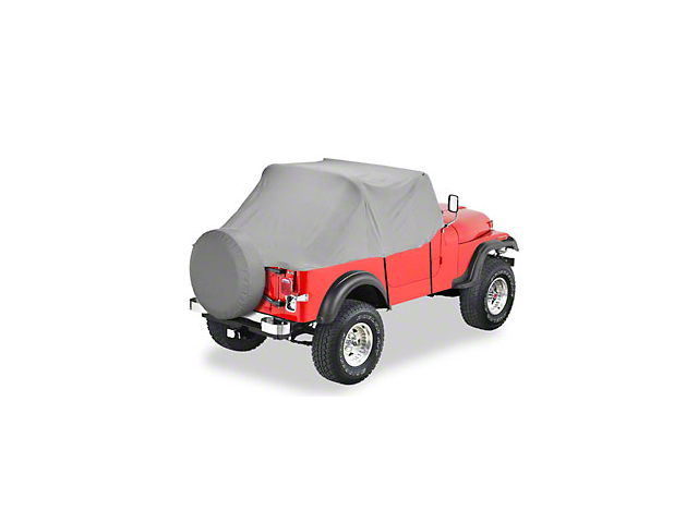 Bestop All-Weather Trail Cover - Charcoal (87-91 Jeep Wrangler YJ)