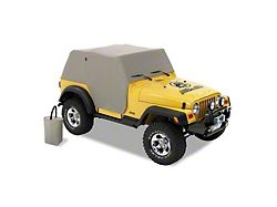 00d02b7bac9 Bestop All-Weather Trail Cover - Charcoal (92-05 Jeep Wrangler YJ)